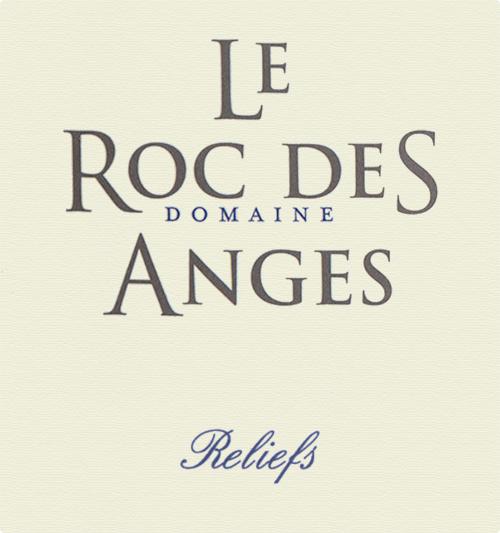 Côtes Catalanes Reliefs Domaine Le Roc des Anges 2015