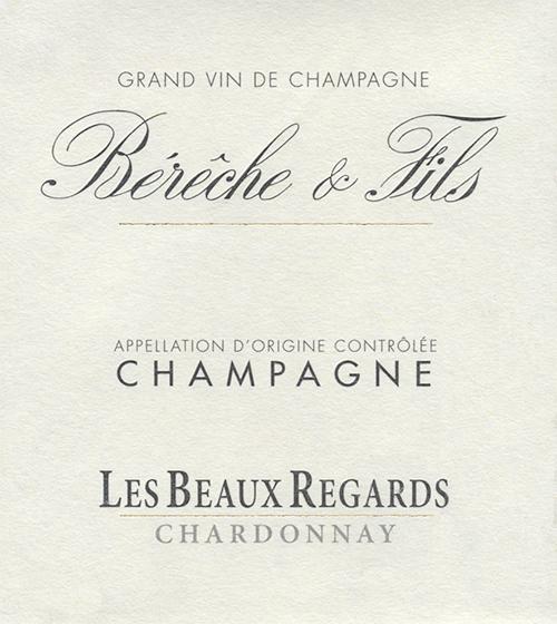 Champagne Les Beaux Regards Chardonnay Bérêche et Fils 2016