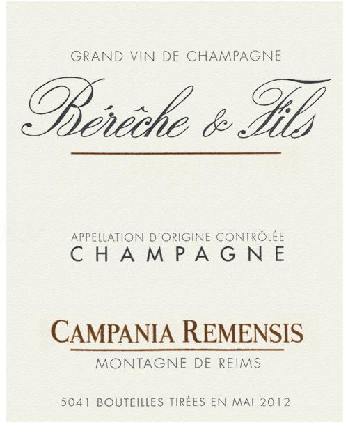 Champagne Campania Remensis Rosé Bérêche et Fils 2017