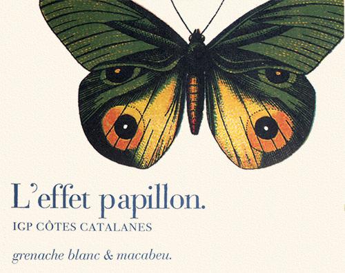 Côtes Catalanes l'Effet Papillon Blanc M&S Gallet 2019
