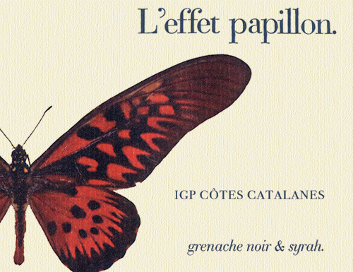 Côtes Catalanes L'effet Papillon Rouge M&S Gallet 2019