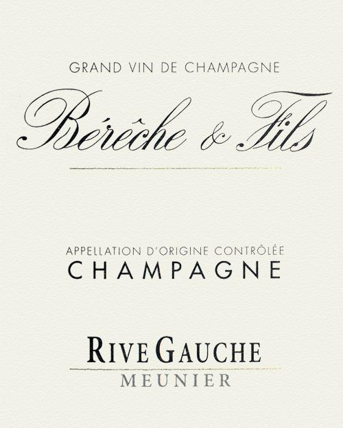 Champagne Rive Gauche Bérêche et Fils 2017
