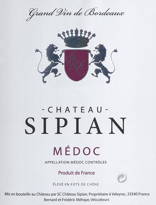 Medoc  Château Sipian 2016