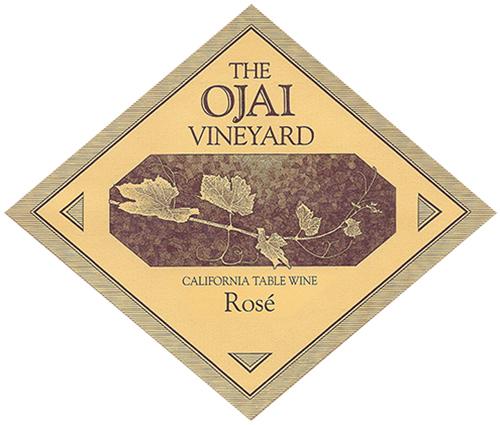 California Rosé Ojai Vineyard 2020