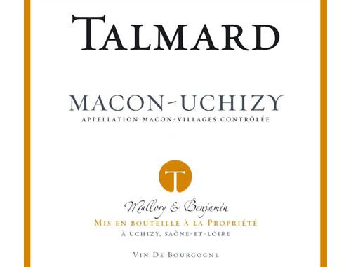 Mâcon-Uchizy  Cave Talmard 2020