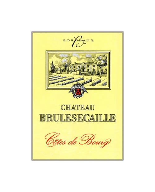 Côtes de Bourg  Château Brulesecaille 2016