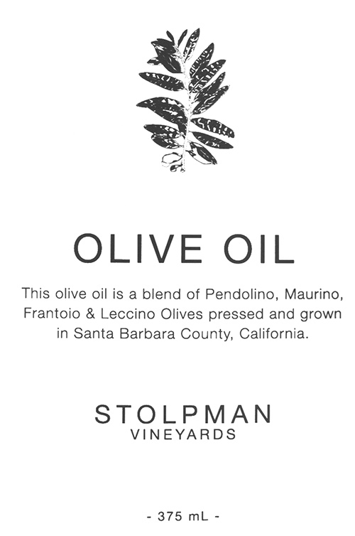 Santa Ynez Valley Olive Oil Stolpman Vineyards
