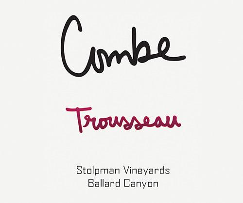 Ballard Canyon Combe Trousseau Stolpman Vineyards 2019
