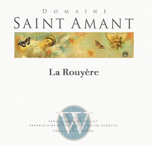 Côtes du Rhône La Rouyère Domaine Saint Amant 2018