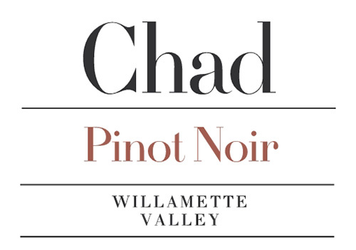 Willamette Valley Pinot Noir Chad Wine Company 2019