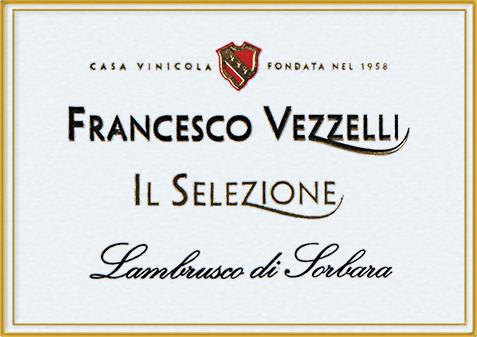 Lambrusco di Sorbara Il Selezione Francesco Vezzelli