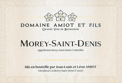 Morey-Saint-Denis  Domaine Pierre Amiot et Fils 2017
