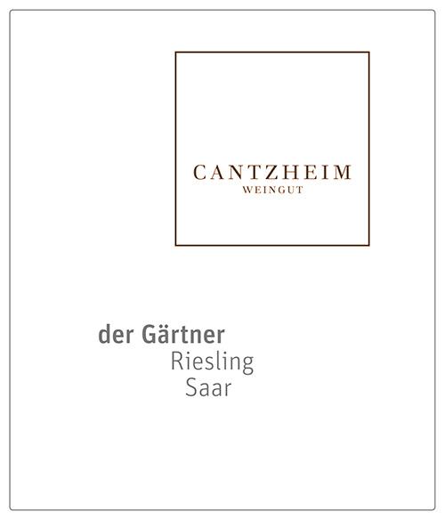 Saar Riesling der Gärtner Trocken Weingut Cantzheim 2018