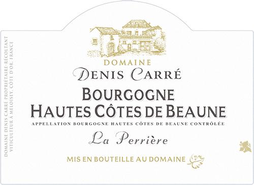 Bourgogne Hautes Côtes de Beaune Domaine Denis Carré 2018