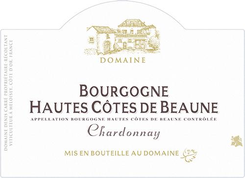 Bourgogne Hautes Côtes de Beaune Chardonnay Domaine Denis Carré 2019
