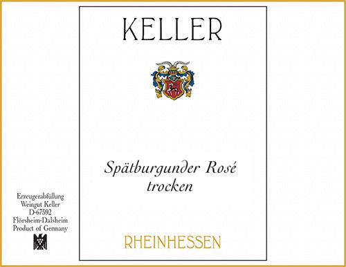 Rheinhessen Spätburgunder Rosé trocken Weingut Keller 2020