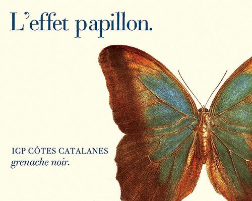Côtes Catalanes L'effet Papillon Rosé M&S Gallet 2020