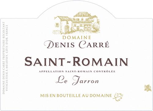 Saint-Romain Le Jarron Domaine Denis Carré 2017