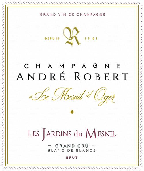 Champagne Les Jardins du Mesnil André Robert NV