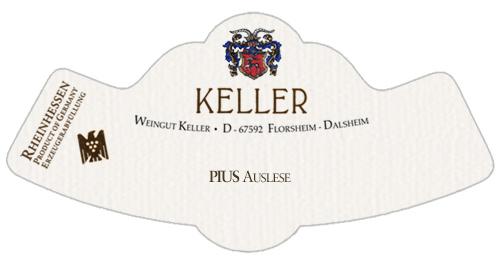 Rheinhessen PIUS Auslese Weingut Keller 2020