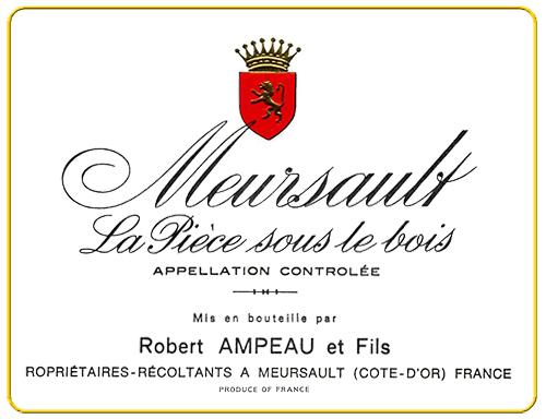 Meursault Premier Cru La Piéce Sous le Bois Domaine Ampeau 2002