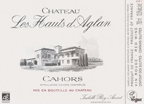 Cahors  Château Les Hauts d'Aglan 2016