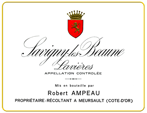 Savigny-les-Beaune Lavieres Domaine Ampeau 1999