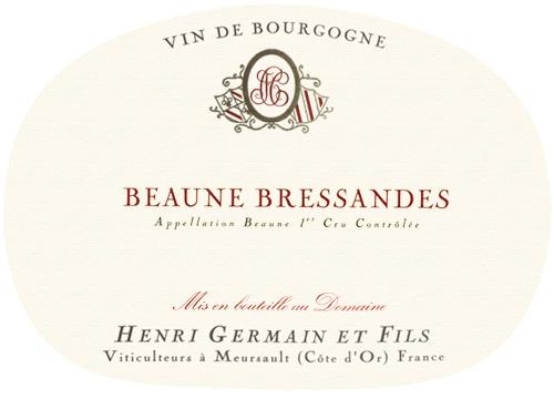 Beaune Premier Cru Bressandes Domaine Henri Germain 2018