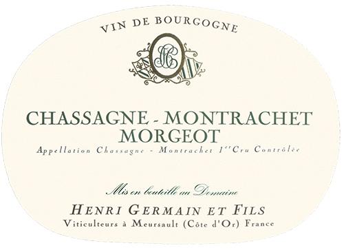 Chassagne-Montrachet Premier Cru Morgeot Domaine Henri Germain 2018