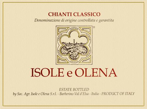 Chianti Classico (In Half Bottle) Isole e Olena 2018