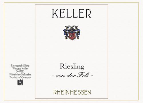 Rheinhessen Riesling Von der Fels Weingut Keller 2020