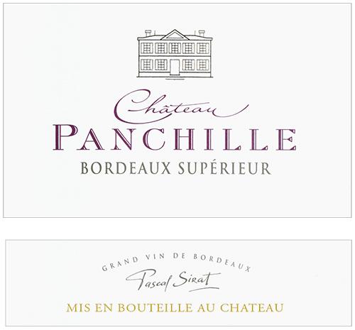 Bordeaux Supérieur  Château Panchille 2016