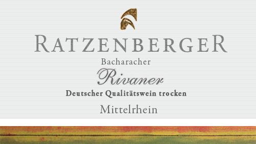 Bacharacher Rivaner Weingut Ratzenberger 2019