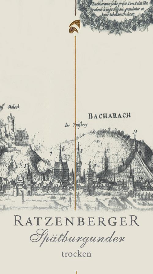 Bacharacher Spätburgunder Trocken Weingut Ratzenberger 2014