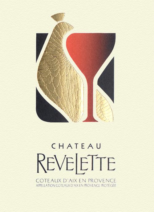 Coteaux d'Aix-en-Provence Rosé Château Revelette 2019